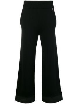 Patrizia Pepe wide leg trousers - Black