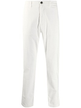 Eleventy straight-leg corduroy trousers - White