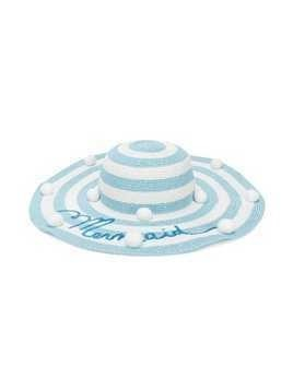Monnalisa Mermaid sun hat - Blue
