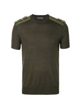 Neil Barrett military T-shirt - Green