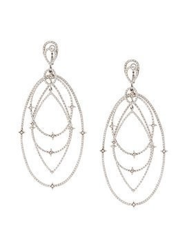Loree Rodkin spherical star drop diamond earrings - Metallic