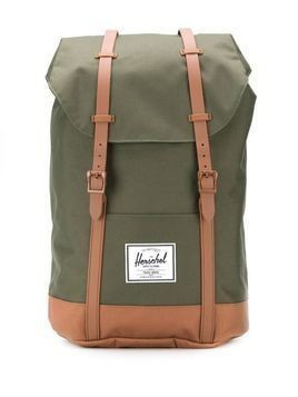 Herschel Supply Co. Retreat contrasting strap backpack - Green