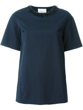 3.1 Phillip Lim embellished shortsleeved top - Blue