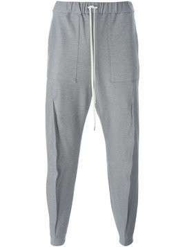 Individual Sentiments seam detail track pants - Grey
