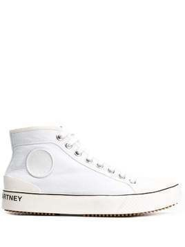 Stella McCartney Stella logo high-top sneakers - White