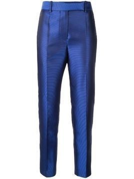 Haider Ackermann high rise woven trousers - Blue