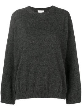 Fine Edge classic cashmere sweater - Grey