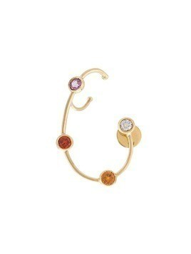 Ana Khouri jewelled wire earring - Yellow