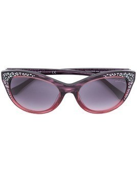 Roberto Cavalli cat eye sunglasses - Black