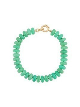 Irene Neuwirth 18kt yellow gold bead bracelet - Green
