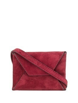 Ann Demeulemeester mini messenger bag - Red