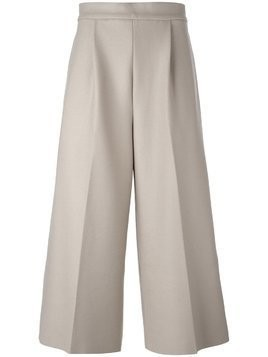 08Sircus cropped wide leg trousers - NEUTRALS