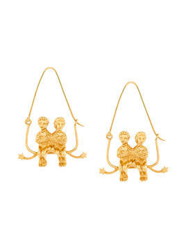 Givenchy couple earring - Metallic