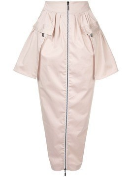 Maticevski patch pockets midi skirt - Pink