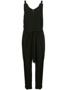 Taylor Recessed Enclose jumpsuit - Black