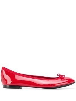 REPETTO bow-embellished ballerina shoes - Red