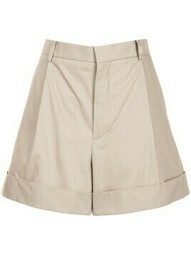 Sofie D'hoore high-waist safari shorts - Brown