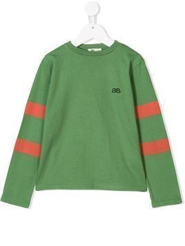 Bandy Button Team sweatshirt - Green
