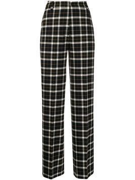 Markus Lupfer Marley plaid trousers - Black