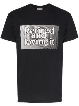 Ashley Williams slogan print short-sleeved cotton T-shirt - Black