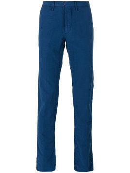 Incotex - plain chinos - Herren - Cotton/Linen/Flax - 46 - Blue