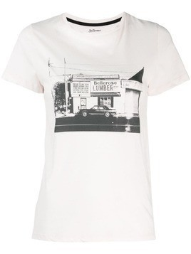 Bellerose photographic print T-shirt - PINK