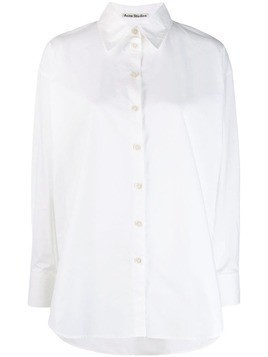 Acne Studios menswear inspired oversized shirt - White