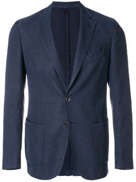 Biagio Santaniello slim fit blazer - Blue