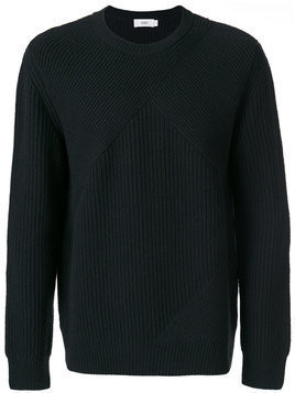 Closed - ribbed knit jumper - Herren - Wool - S - Green