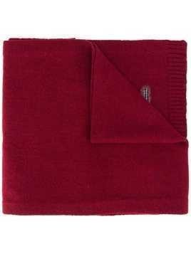 Pringle of Scotland logo-insert scarf - Red