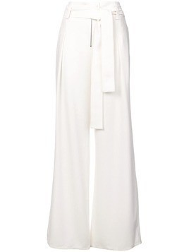 Proenza Schouler high-waist tailored trousers - White