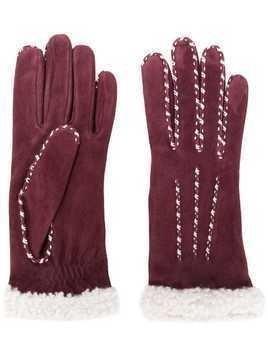 Agnelle Marielouise gloves - Red