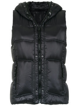 Track & Field Urban quilted vest - Black