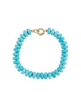 Irene Neuwirth 18kt yellow gold bead bracelet - Blue