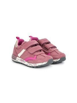 Geox Kids graphic-print sneakers - Pink