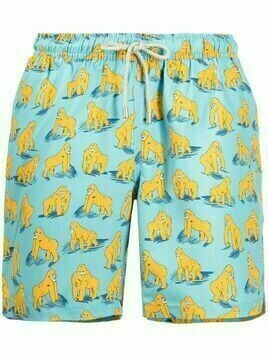Bluemint gorilla print swim shorts