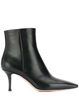 Gianvito Rossi stiletto ankle boots - Black