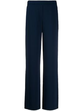 P.A.R.O.S.H. flared style trousers - Blue
