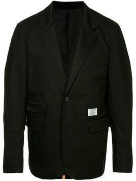 Makavelic lined tailored jacket - Black