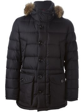 Moncler 'Cluny' padded jacket - Black