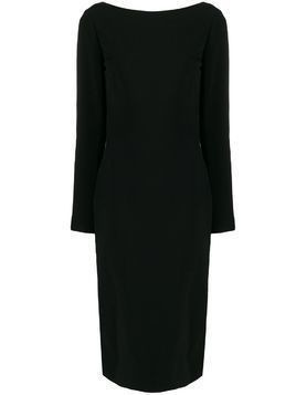 Tom Ford backless fitted dress - Black