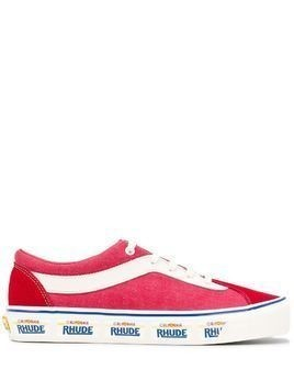 Vans low-top lace-up sneakers - Red