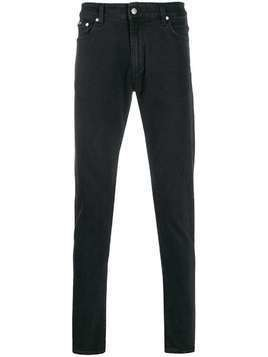 Represent Essential mid-rise skinny jeans - Black