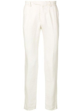 Borrelli straight fit chino trousers - White