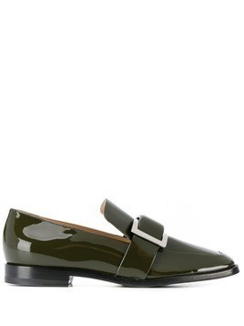 Sergio Rossi buckle loafers - Green