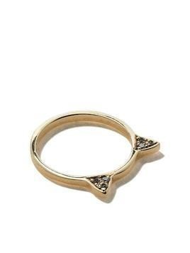 Jacquie Aiche 14kt yellow gold mini Kitty diamond ring