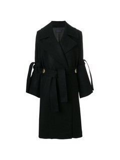 Eudon Choi long trench coat - Black