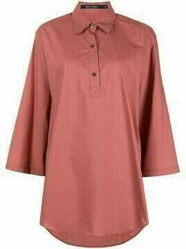 Sofie D'hoore plain cotton shirt - Pink