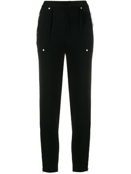 Michael Michael Kors zip-detail fitted trousers - Black
