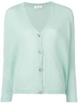 Masscob fitted cardigan - Green